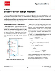 Snubber Circuit Design Methods for SiC MOSFETs