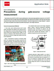 Precautions During Gate-Source Voltage Measurement